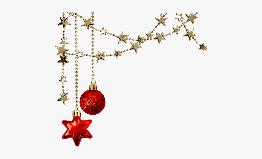 #christmas #holiday #stars #decorations #balls #red - Christmas Day, HD Png Download, Free Download