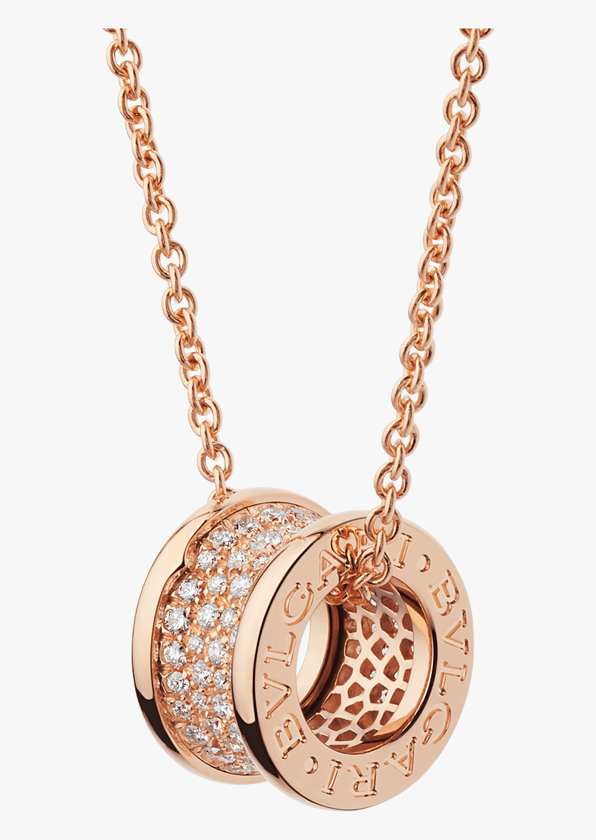 Rose Gold Bvlgari Necklace, HD Png Download, Free Download