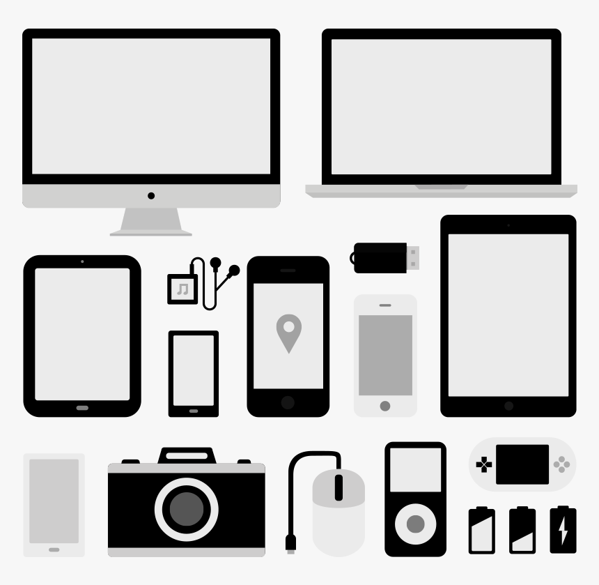 Devices - Ipod Ipad Iphone Icon, HD Png Download, Free Download