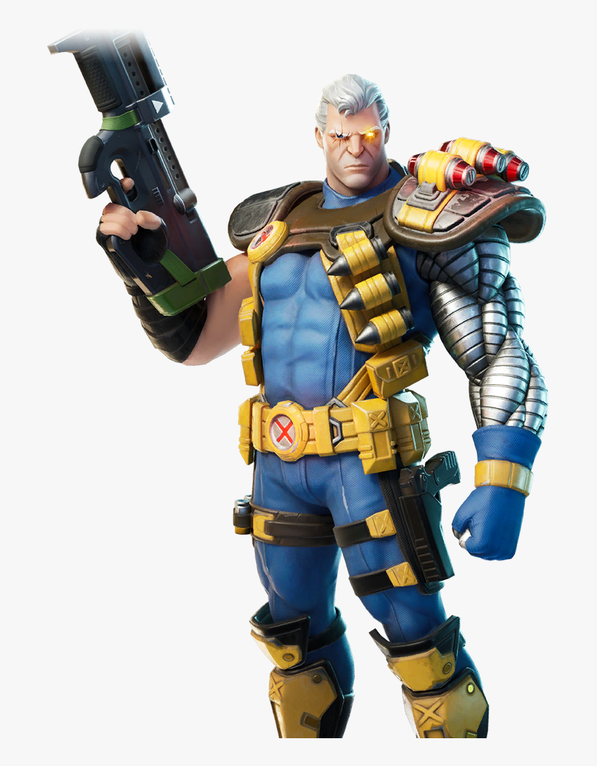 40 Leaked Skins Cable - X Force Skins Fortnite, HD Png Download, Free Download