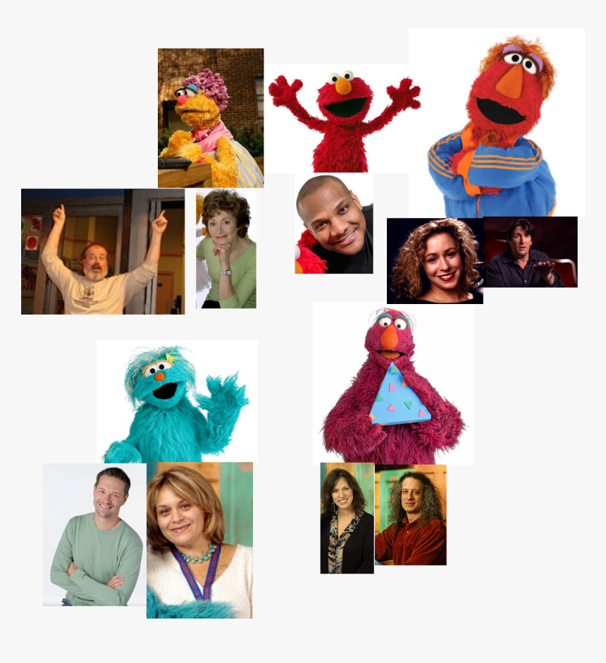 Muppet Wiki Behind The Scenes Photos Talk, Listen, - Sesame Street, HD Png Download, Free Download