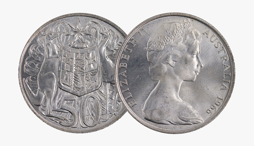 Transparent 50 Cent Australian Coin, HD Png Download, Free Download