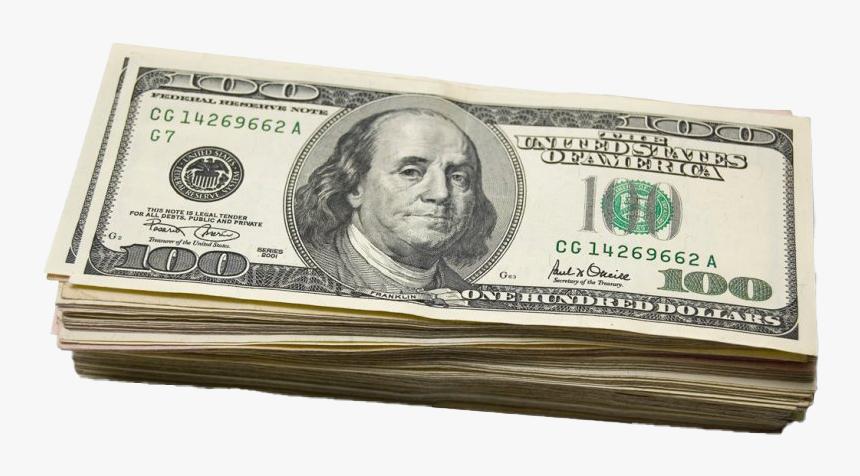 United States Dollar Bill Transparent - 100 Dollar Bill Transparent, HD Png Download, Free Download
