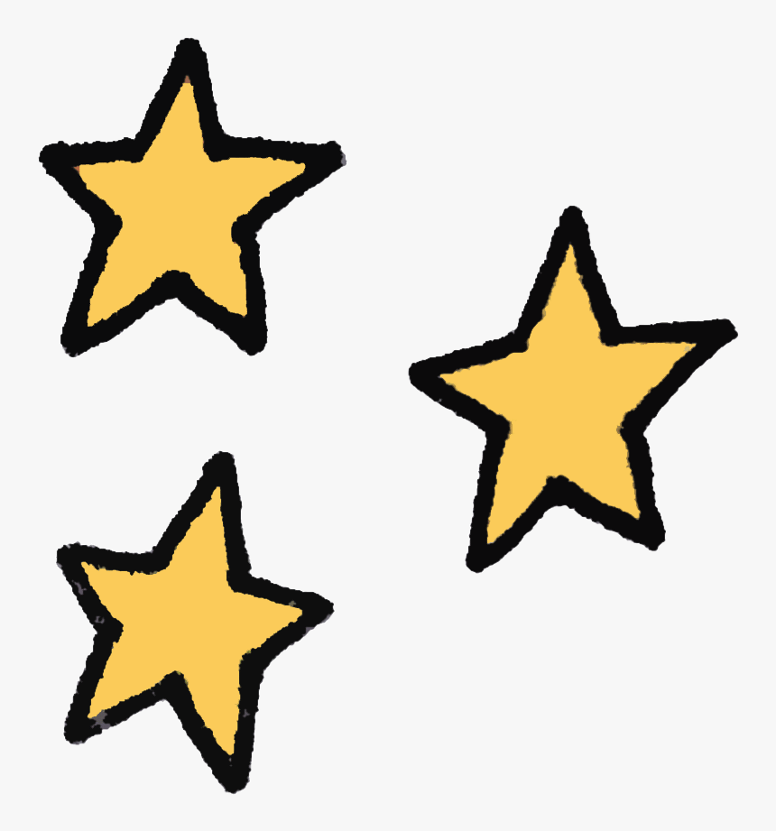 Space Star Sticker By Pretty Whiskey / Alex Sautter - Transparent Star Icon Gifs, HD Png Download, Free Download