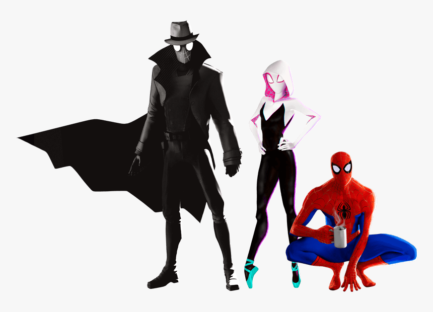 Spiderman Into The Spider Verse Png Download Spider Man Into The Spider Verse Png Transparent Png Kindpng