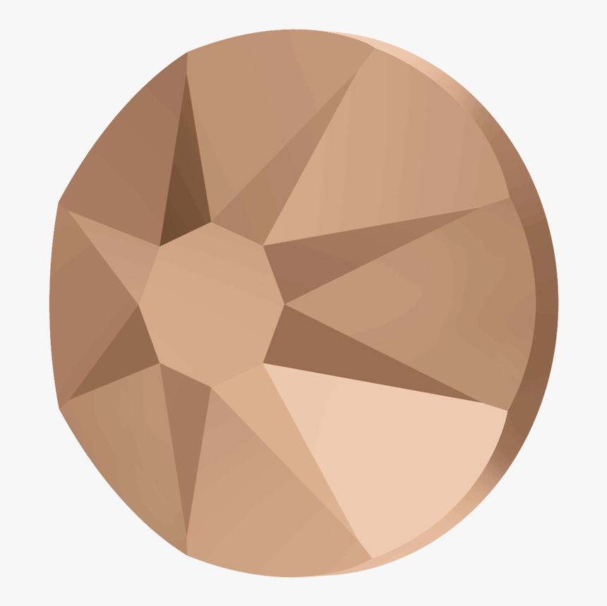 2088 Ss20 Swarovski Crystal Rose Gold, HD Png Download, Free Download