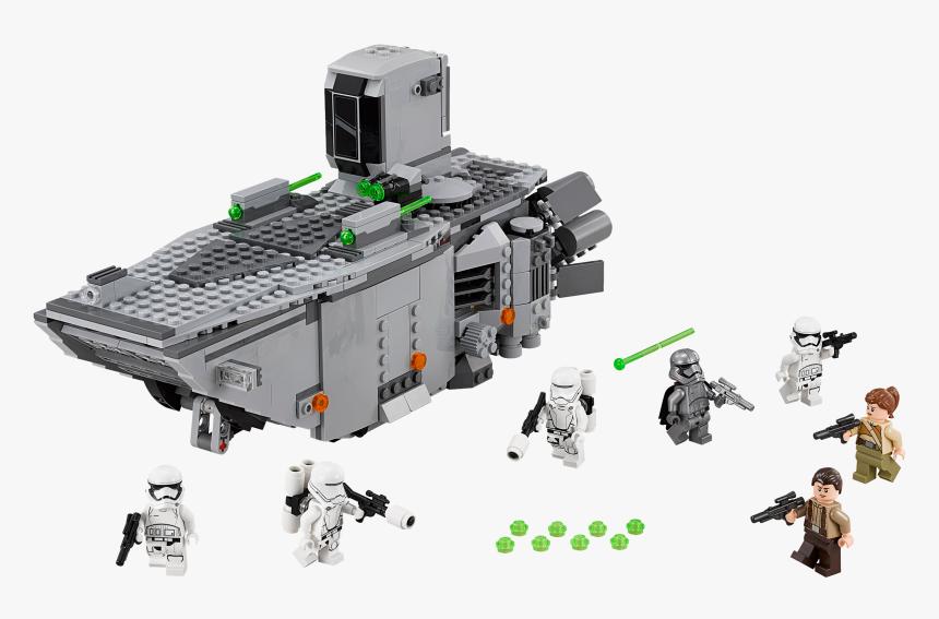 Transparent First Order Stormtrooper Png - Lego Star Wars First Order Transporter, Png Download, Free Download