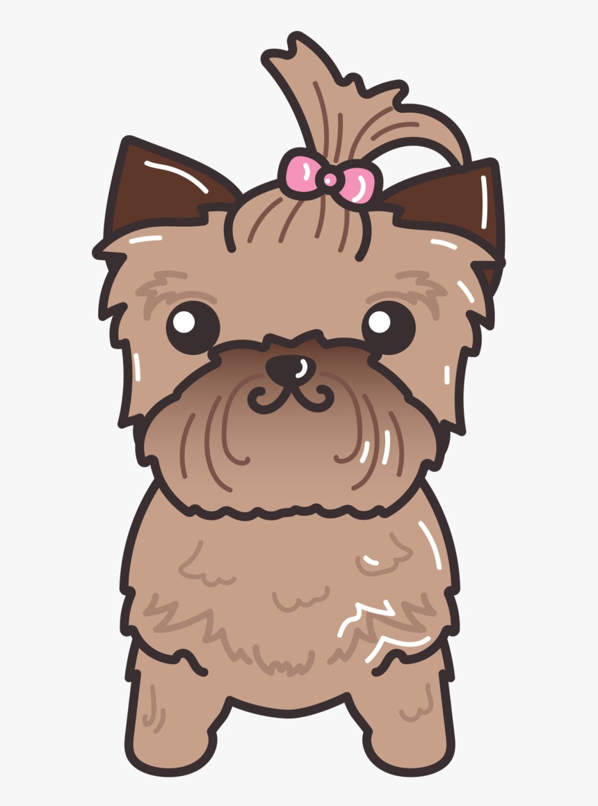 Transparent Yorkie Clipart Puppy Cute Dog Clip Art Hd Png Download Kindpng