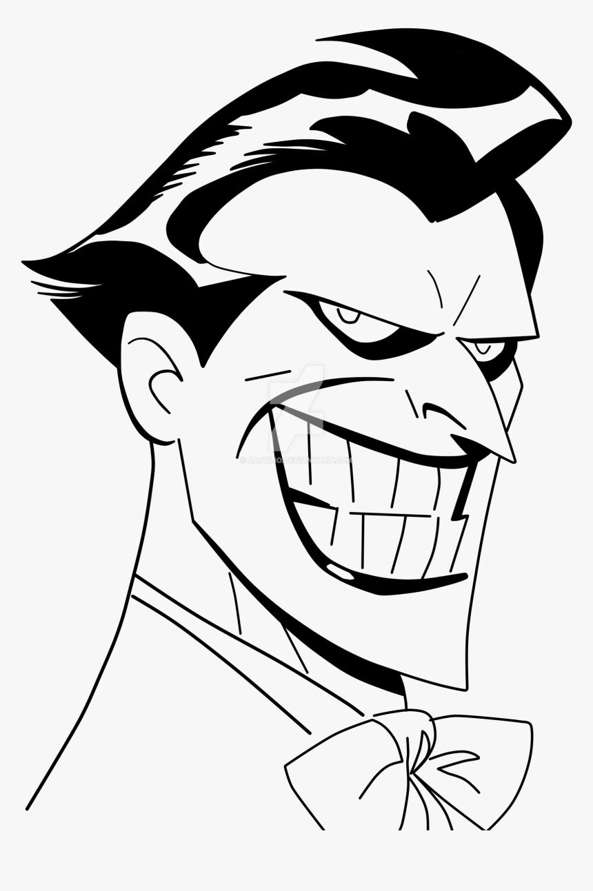 Batman The Animated Series Joker Drawing, HD Png Download, Free Download