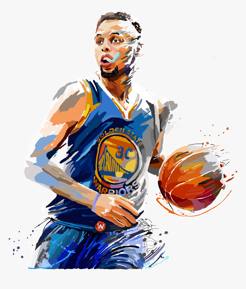Transparent James Madison Clipart - Stephen Curry Fan Art, HD Png Download, Free Download