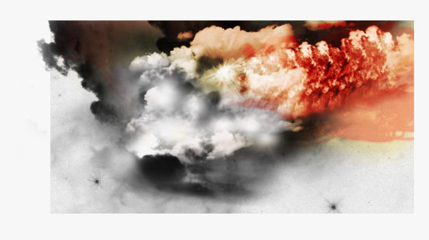 Calle Con Efectos Efecto Fuego Y Humo - Humo Efectos Png Para Photoshop, Transparent Png, Free Download