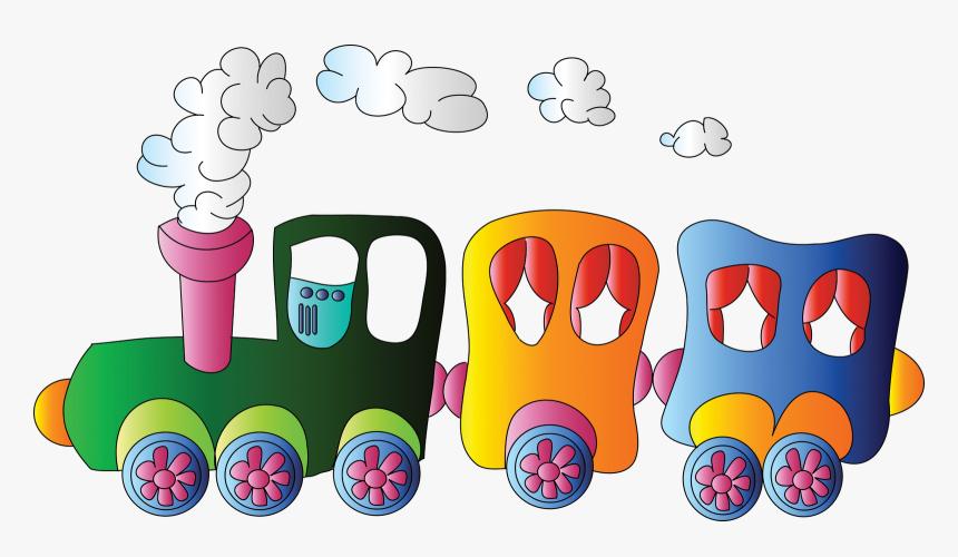 Juguetes Clipart Photoshop Fondos De - Train Kids Clipart, HD Png Download, Free Download