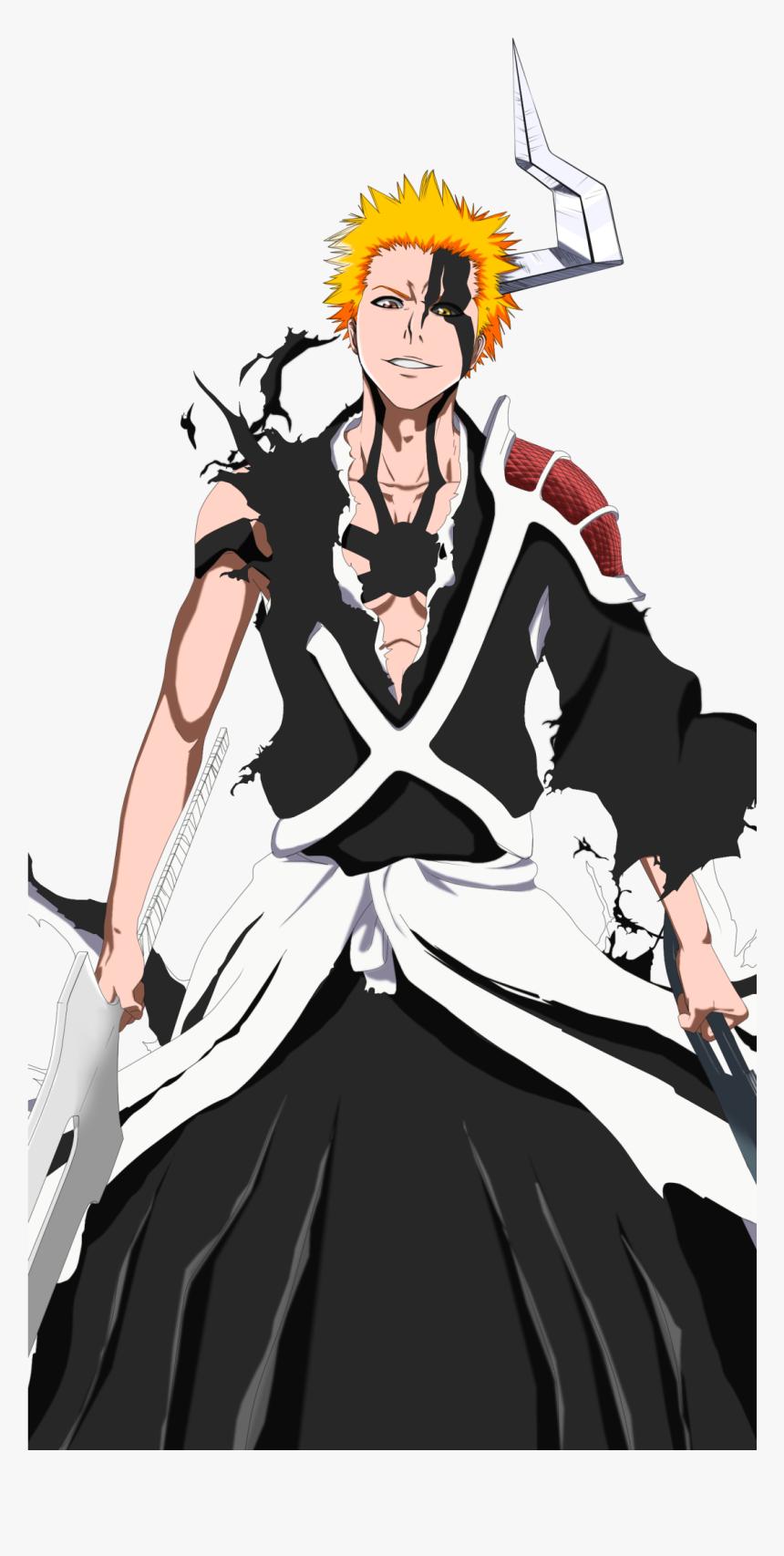 Transparent Bleach Anime Png Ichigo 1000 Year Blood War Png Download Kindpng