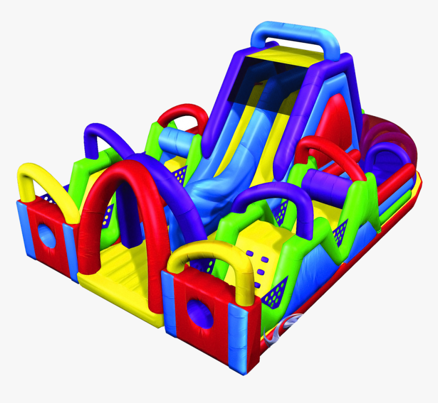 Inflatable Obstacle Course Image Png, Transparent Png, Free Download