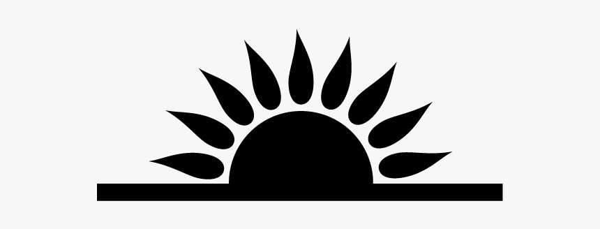 Morning Sun Graphic During Sunrise Clip Art Stock Illustration -  Illustration of yellow, focus: 4824174