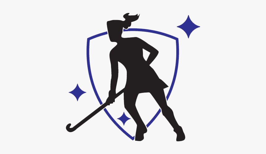 Field Hockey Silhouette At Getdrawings - Field Hockey Player Drawing , Free  Transparent Clipart - ClipartKey
