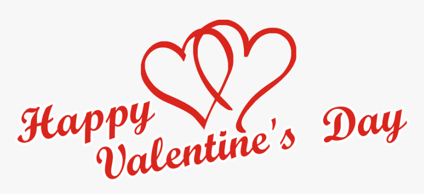 Happy Valentines Day Text Png - Transparent Happy Valentines Day Png, Png Download, Free Download