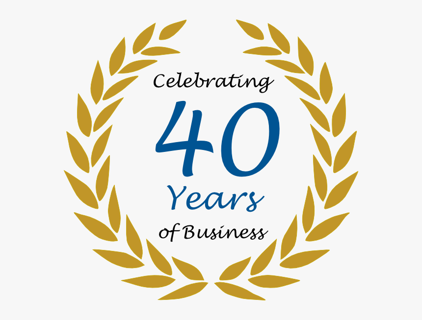 40 Years In Business, HD Png Download, Free Download