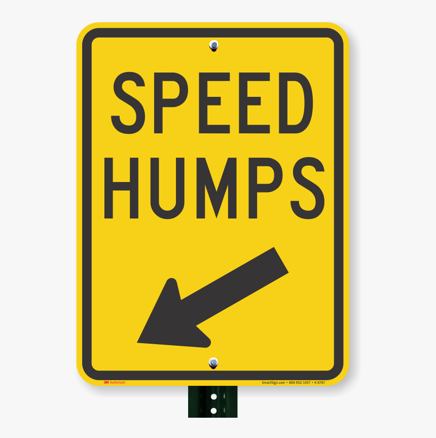 Transparent Slow Down Clipart - Speed Bump Sign, HD Png Download, Free Download
