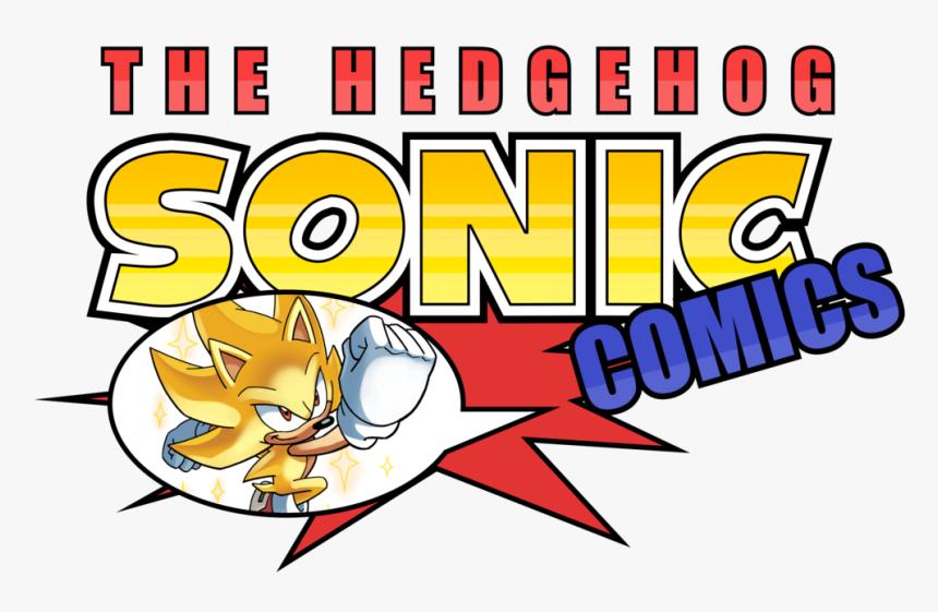 The Hedgehog Comics Sonic Generations Sonic Mania Sonic Sonic The Hedgehog Comic Logo Hd Png Download Kindpng