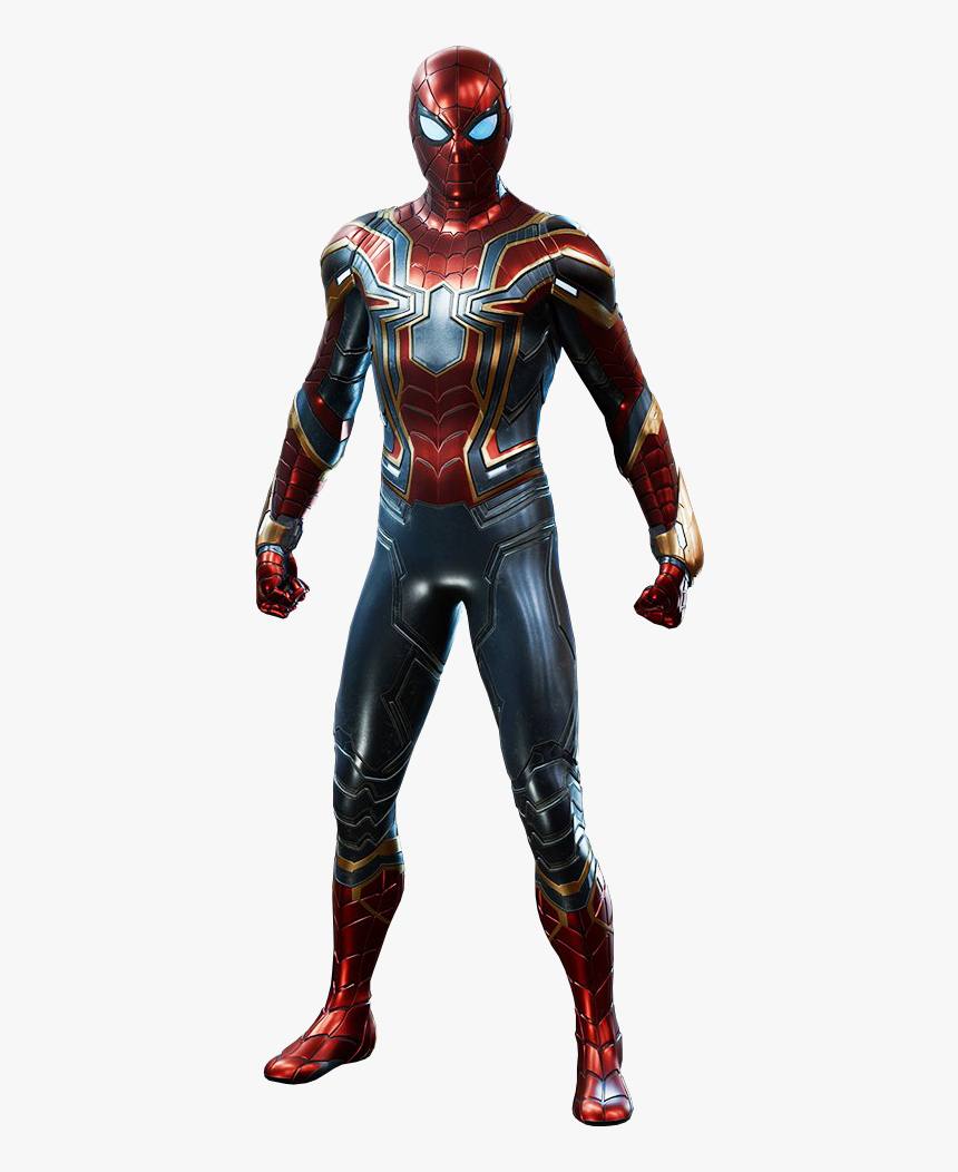 S Spider-man Wiki - Spider Man Ps4 Iron Spider Suit, HD Png Download, Free Download