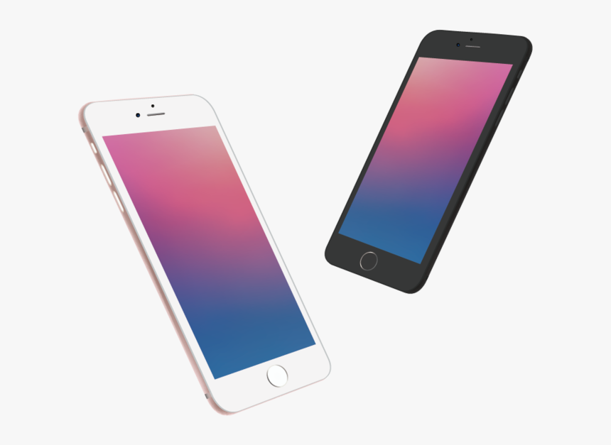 Vector Painted Smartphone Iphone Apple Png Free Photo ...