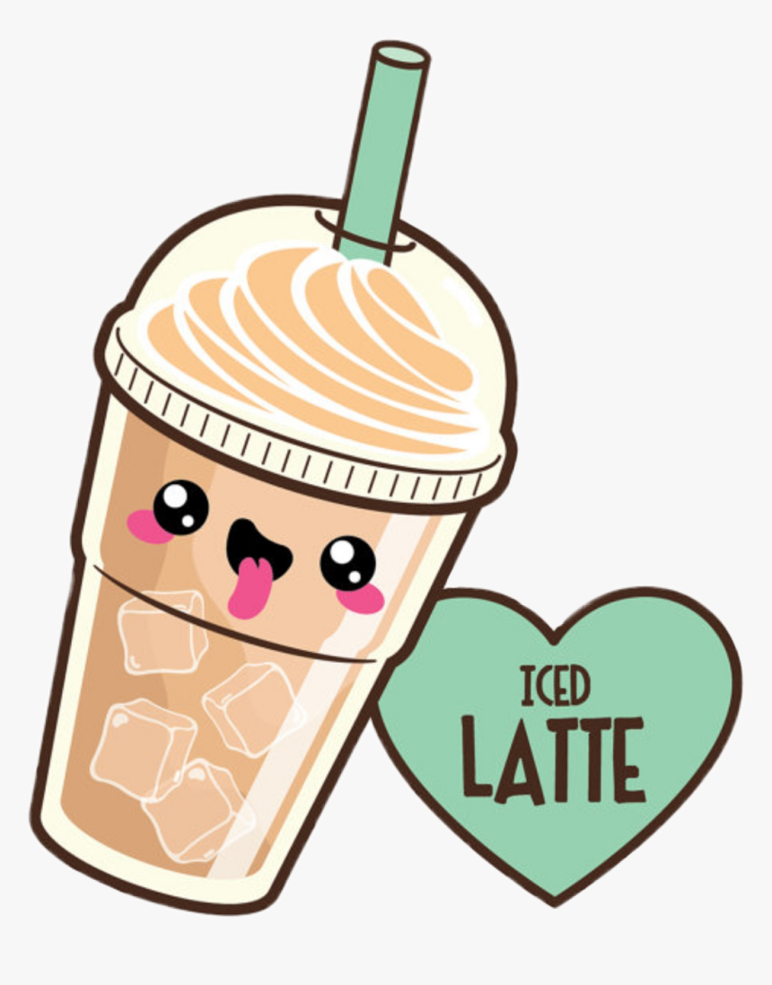 Kawaii Food - Kawaii Cute Coffee Drawings, HD Png Download, Free Download
