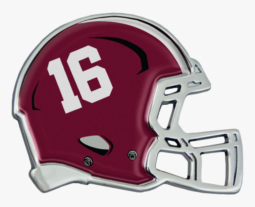 University Of Alabama Crimson Tide Chrome Helmet Auto - Helmet, HD Png Download, Free Download