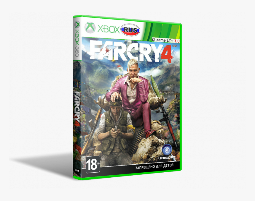 Far Cry Far Cry 4 Xbox 360 Hd Png Download Kindpng