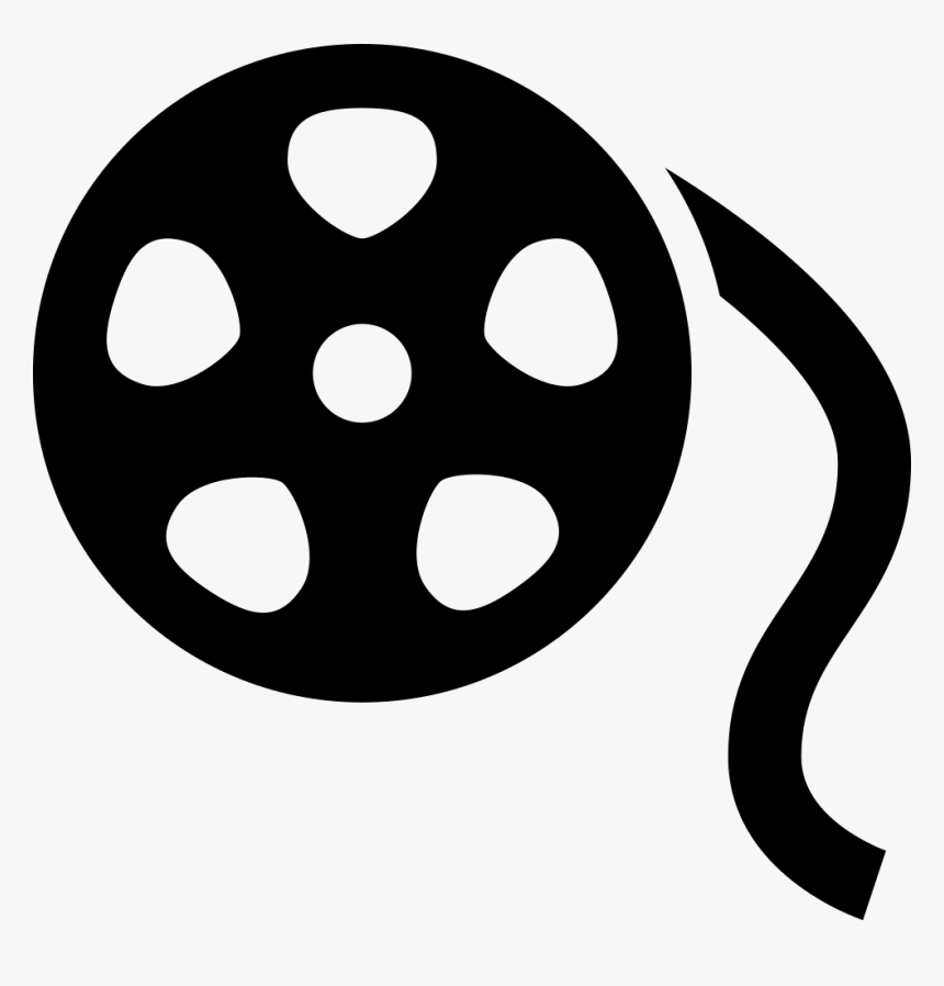 Film Reel Icon Png - Icon Film Reel Png, Transparent Png, Free Download