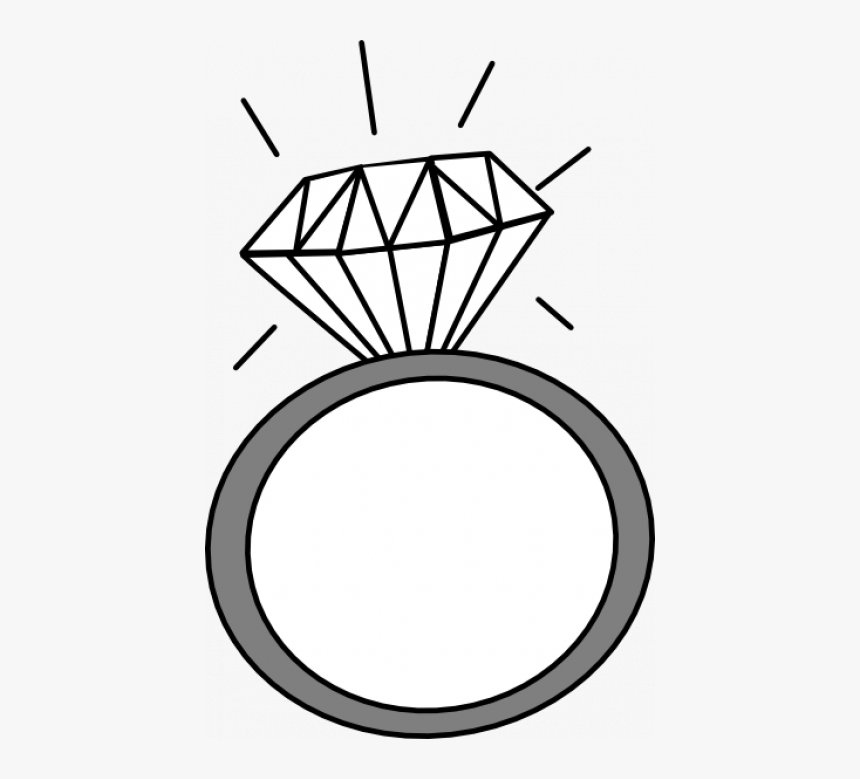 Engagement Ring Clipart With Tranlucent Background - Engagement Ring Clipart Transparent Background, HD Png Download, Free Download
