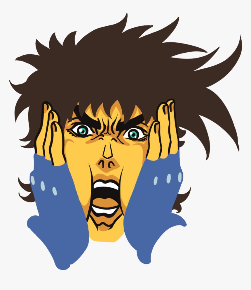 Jjba Emoji, HD Png Download, Free Download