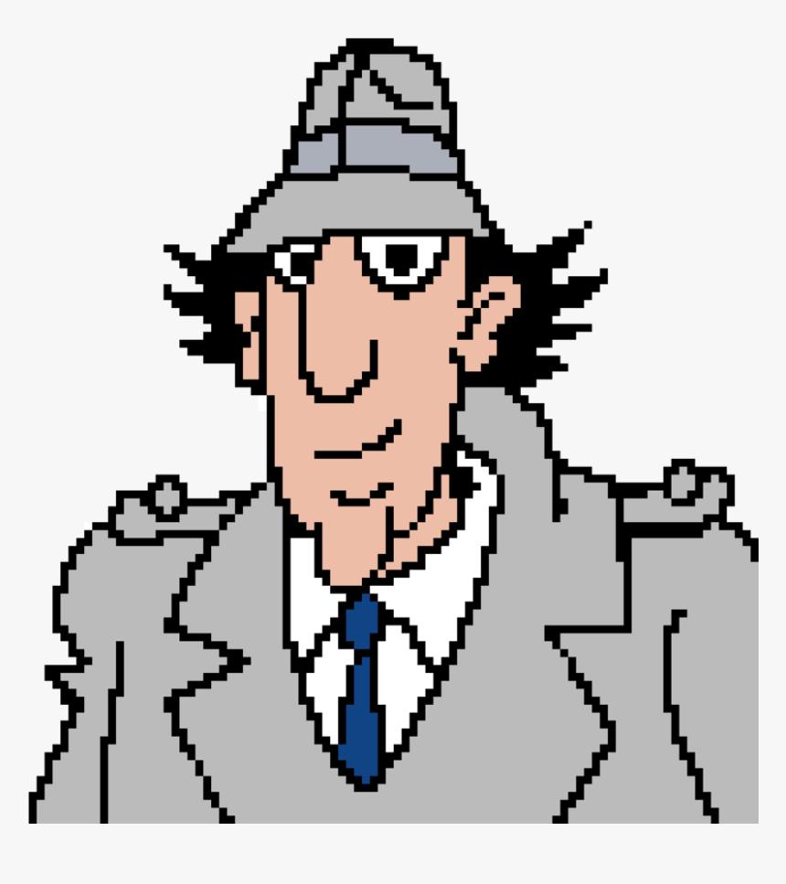 Inspector Gadget Pixel Art Clipart , Png Download - Inspector Gadget Brown Bricks, Transparent Png, Free Download