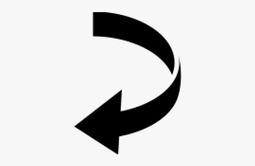 Curved Arrow Image - Curved Arrow Shape, HD Png Download, Free Download
