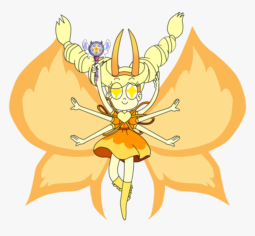 Star Butterfly - Star Vs The Forces Of Evil Star Butterfly Form, HD Png Download, Free Download
