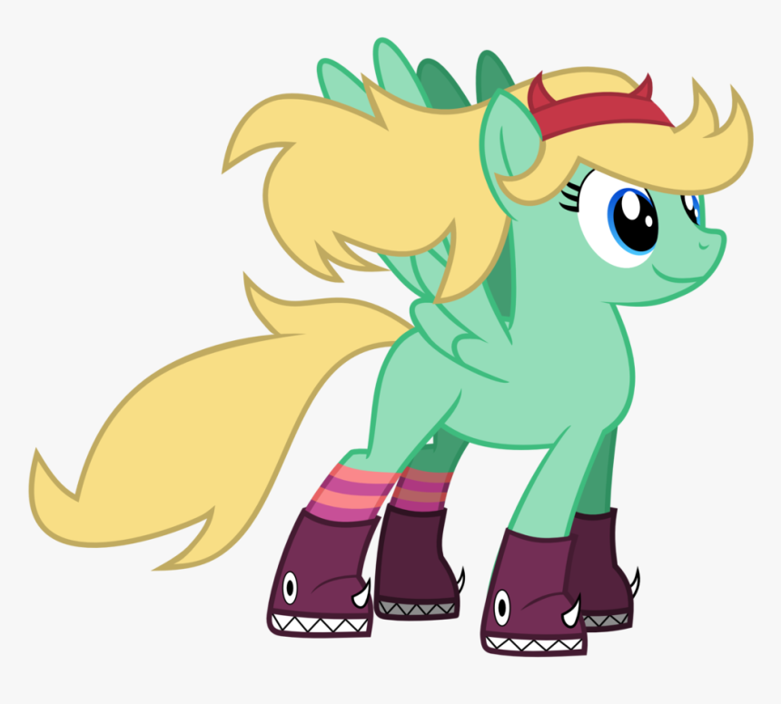 Tizerfiction, Clothes, Pegasus, Ponified, Pony, Safe, - Star Butterfly My Little Pony, HD Png Download, Free Download