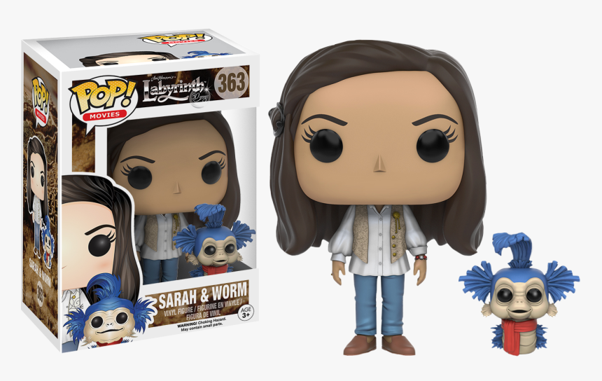 Sarah With Worm Pop Vinyl Figure - Funko Pop Miss Peregrine's Home For Peculiar Children, HD Png Download, Free Download