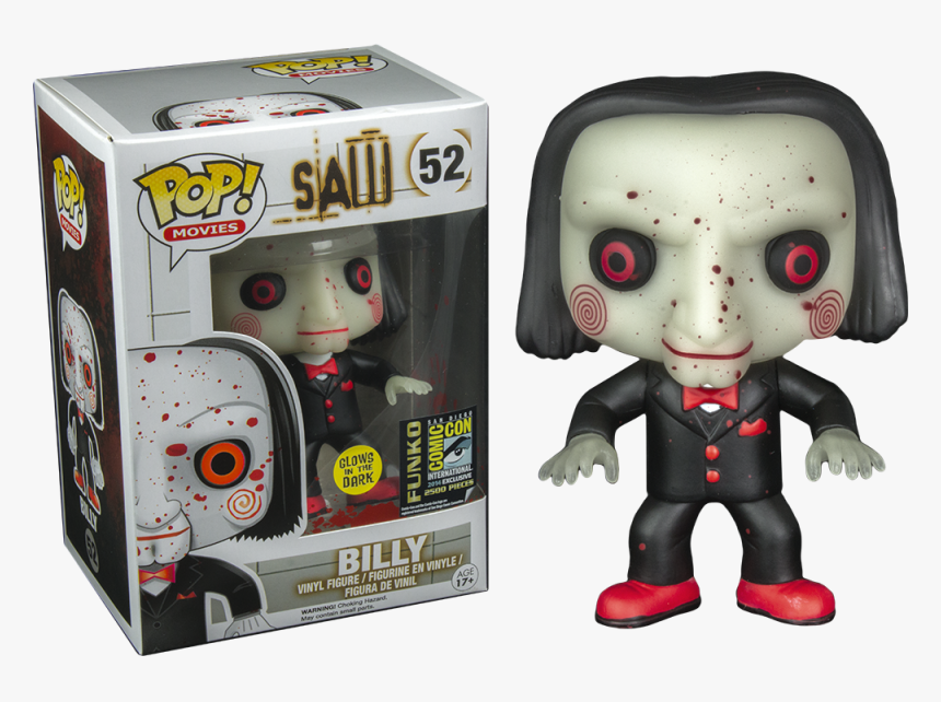 Billy Funko Pop Saw, HD Png Download, Free Download