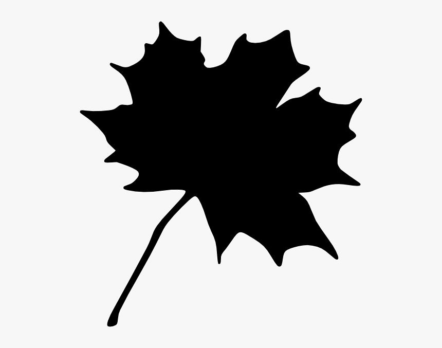 Black Leaf Svg Clip Arts - Maple Leaf Clip Art, HD Png Download ...