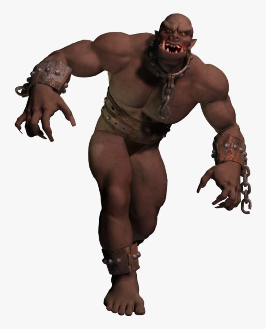 #ogre #giant #monster #escaped #mythologicalcreature - Cg Artwork, HD Png Download, Free Download