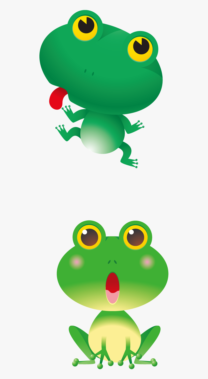 Red Eyed Tree Frogs Cartoons Clipart , Png Download - Cartoon Red Eyed Tree Frog Clipart, Transparent Png, Free Download