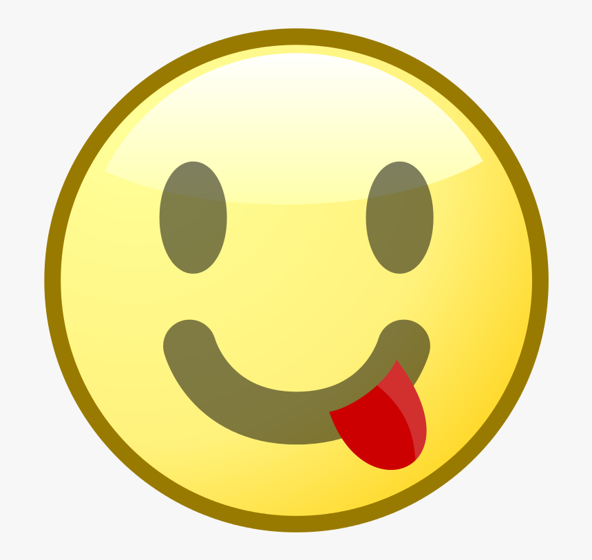 File - Nuvola Emoticon - Tongue - Svg - Wikimedia Commons - Pbs Kids Go, HD Png Download, Free Download