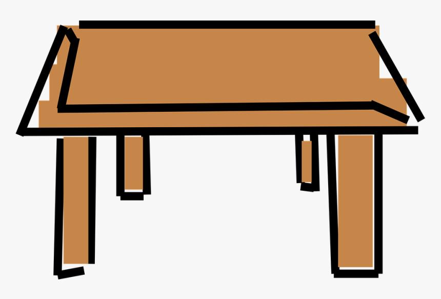 Table Clipart Cartoon Desk Clipart Hd Png Download Kindpng