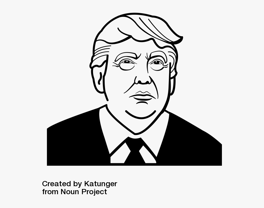 Back In August, I Mentioned Macro Model, A New Macroeconomic - Donald Trump Face Drawing, HD Png Download, Free Download