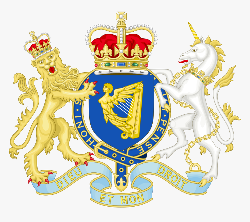 Declaration Of Independence Clipart Parliament British - Royal Coat Of Arms Of The United Kingdom, HD Png Download, Free Download