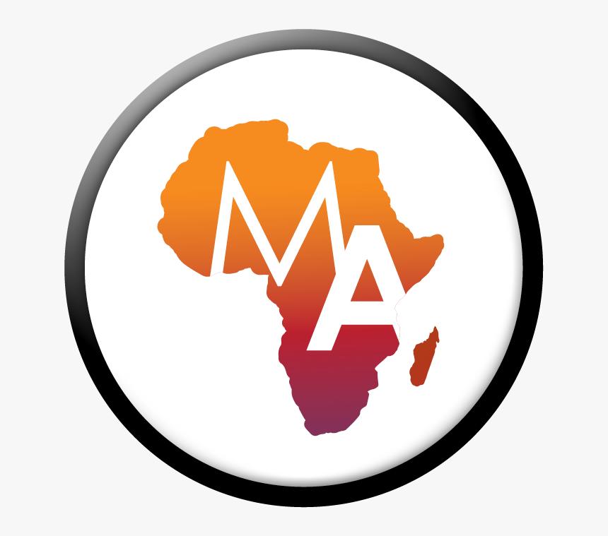 Media Africa - Transparent Background Africa Map Png, Png Download, Free Download