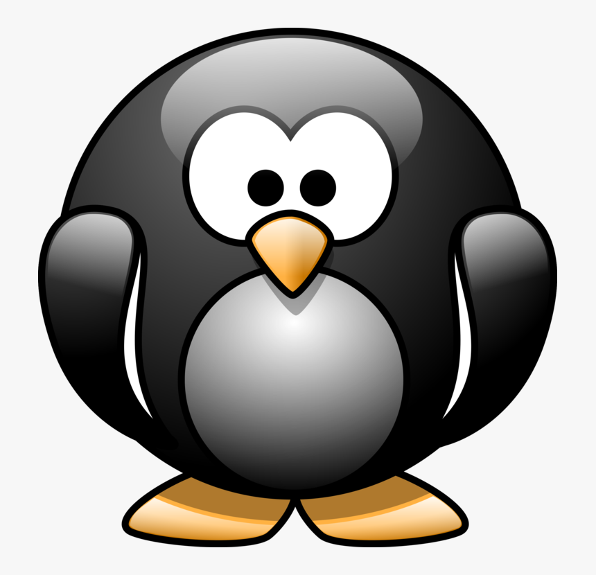 Cartoon Penguin Svg Clip Arts - Penguin Cartoon No Background, HD Png Download, Free Download