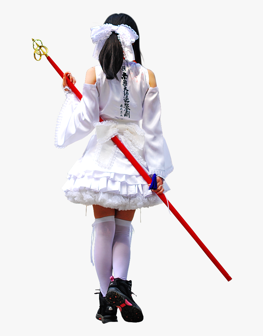 A Cosplay Pilgrimage Of Shikoku′s 88 Temples As The - Cosplay, HD Png Download, Free Download