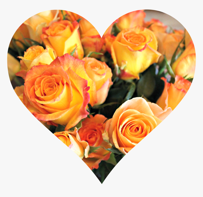 Transparent Orange Rose Png - Orange Roses Bouquet Happy Birthday, Png Download, Free Download