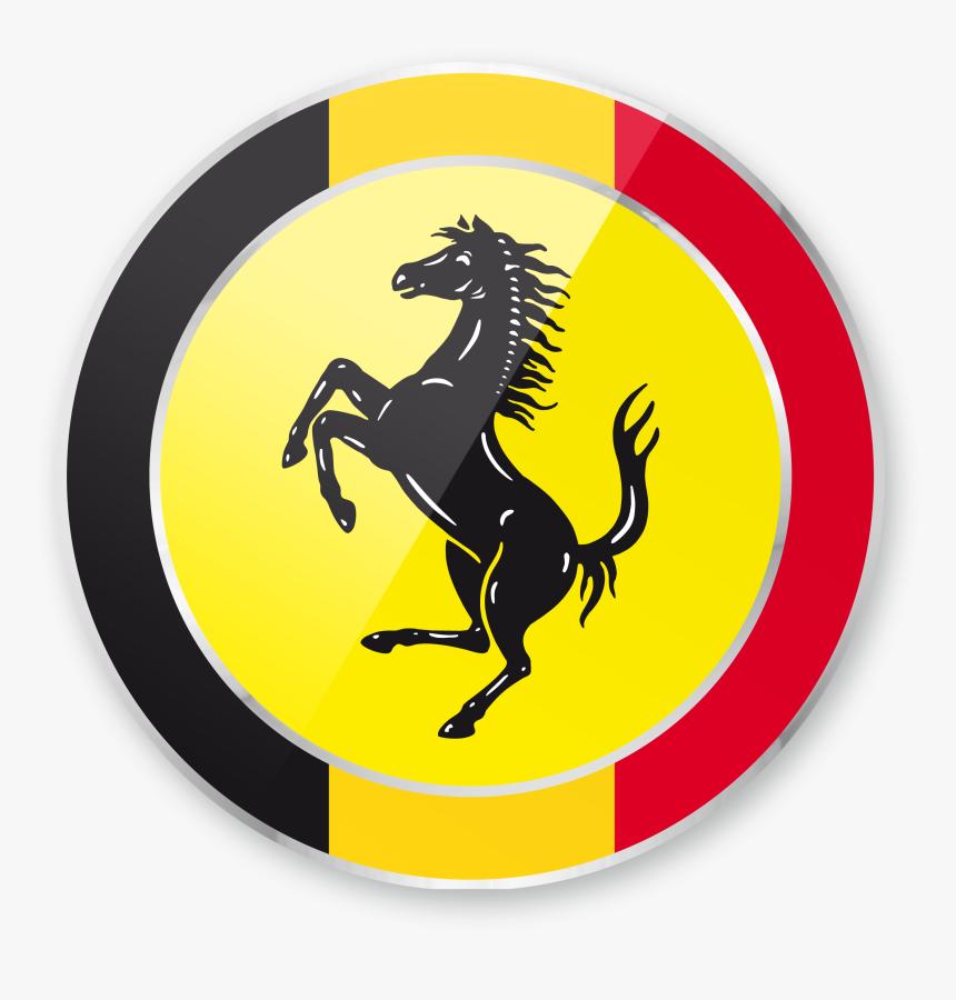 Transparent Ferrari Horse Png Logo De Ferrari 2017 Png Download Kindpng